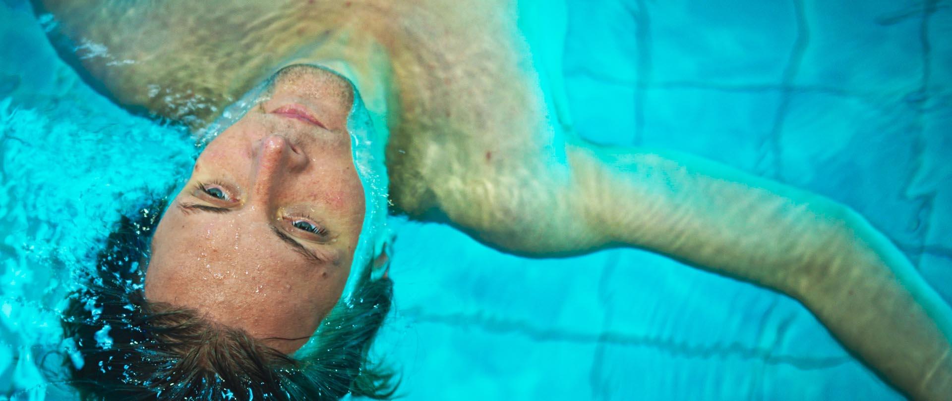 Fabian Kloiber in Fluten (2019, Georg Pelzer) - Filmstill